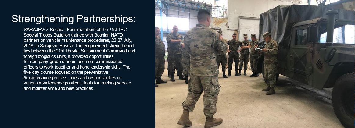 Strengthing partnerships